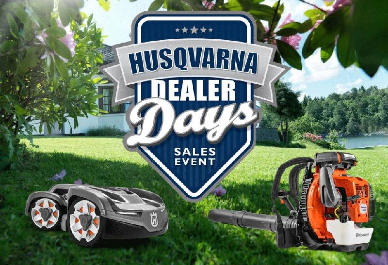 Husqvarna Power Equipment - Husqvarna Dealer Days Sales Event