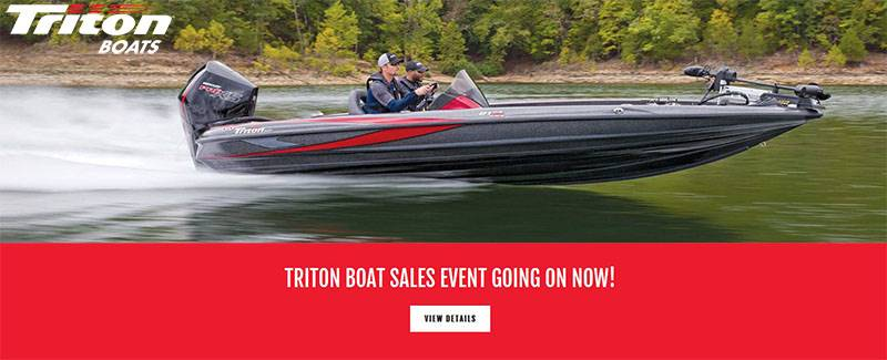 Triton - Boat Sales Event