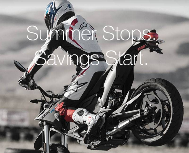 Zero Motorcycles - End of Season Sales Event