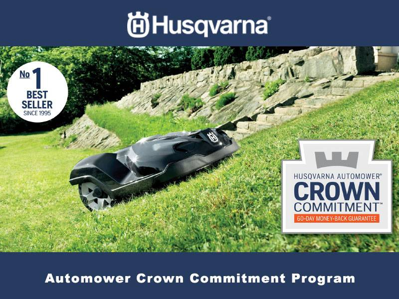 Husqvarna Power Equipment - Automower Crown Commitment Program