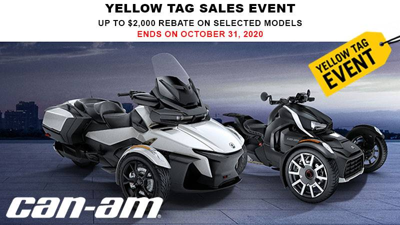 Can-Am On-Road - Yellow Tag Sales Event