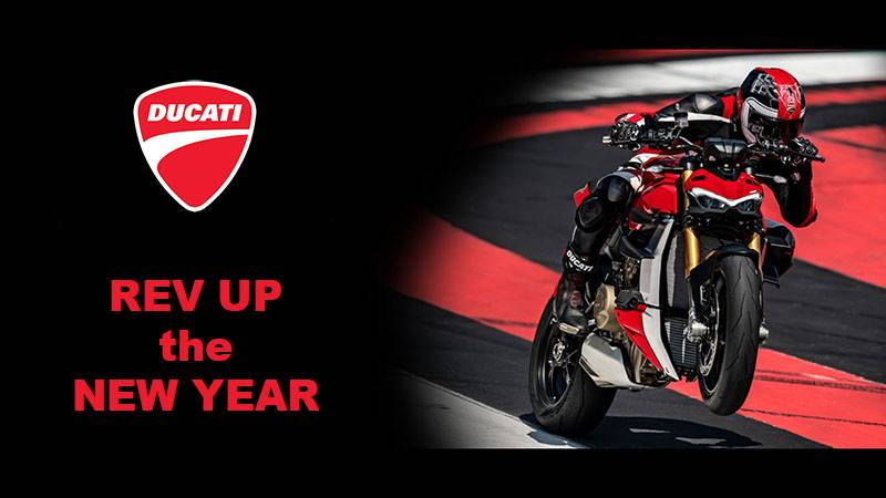 Ducati - Rev Up the New Year