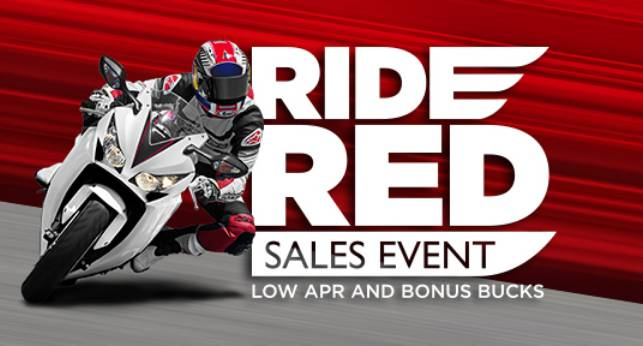 Honda - 3.24% Fixed APR Select Motorcycles!