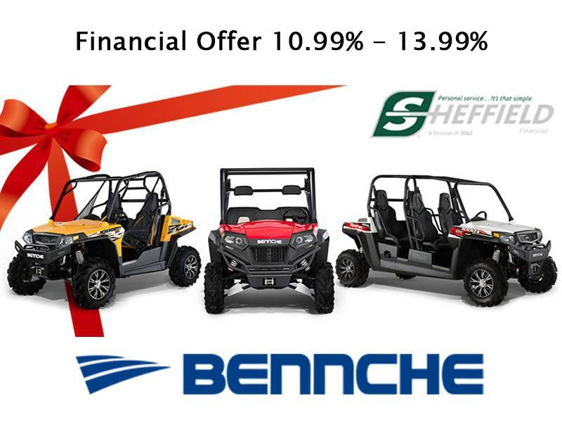 Bennche - Sheffield Financial Offer 10.99% - 13.99%