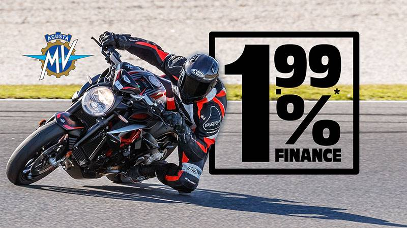 MV Agusta - 1.99% Finance Offer