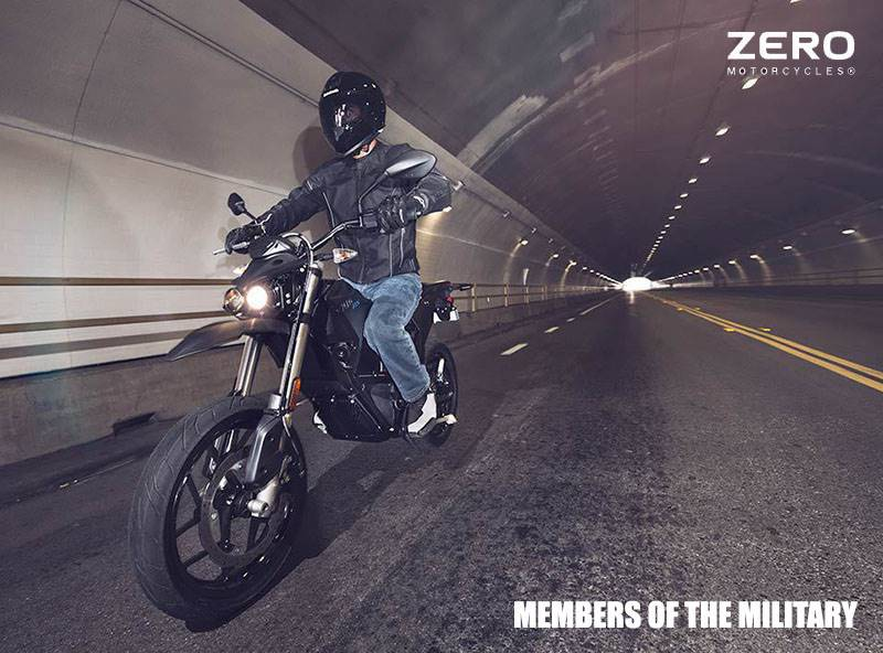 Zero Motorcycles - Members of the Military