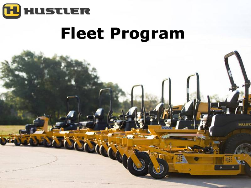 Hustler Turf Equipment - Fleet Program