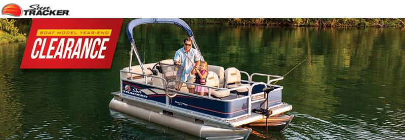 Sun Tracker - Boat Model Year - End Clearance