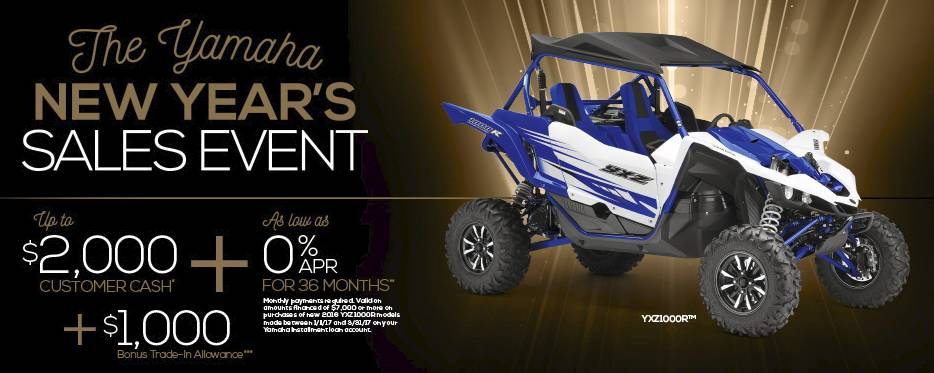 Yamaha Waverunners - 6.49% for 96 months