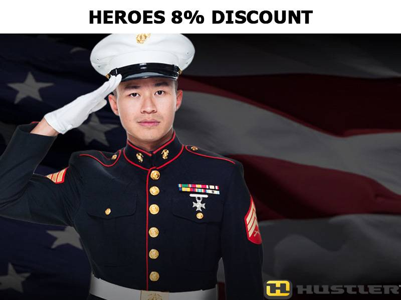 Hustler Turf Equipment - Heroes 8% Discount