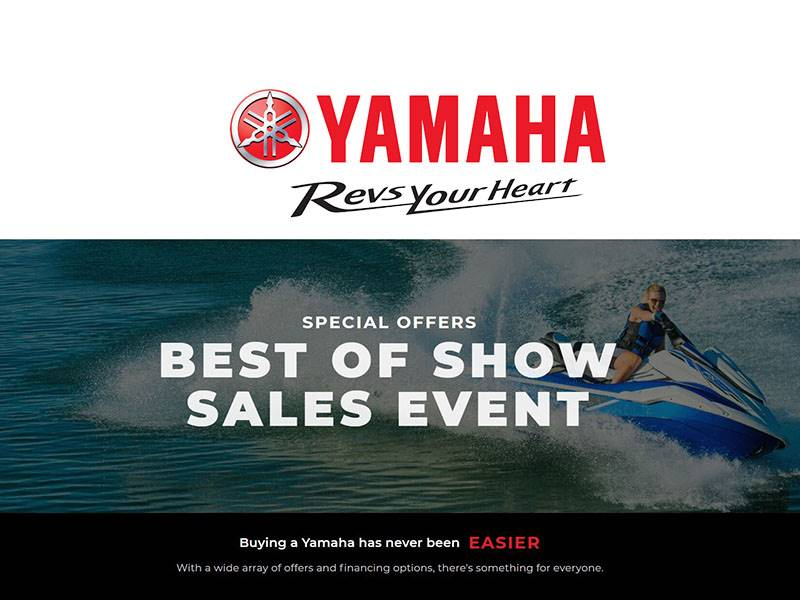 Yamaha - Best of Show Sales Event - Waverunners