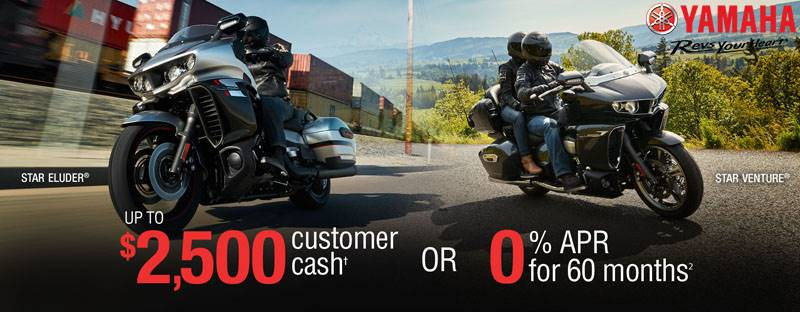 Yamaha Touring Motorcycles - Current Offers & Financing