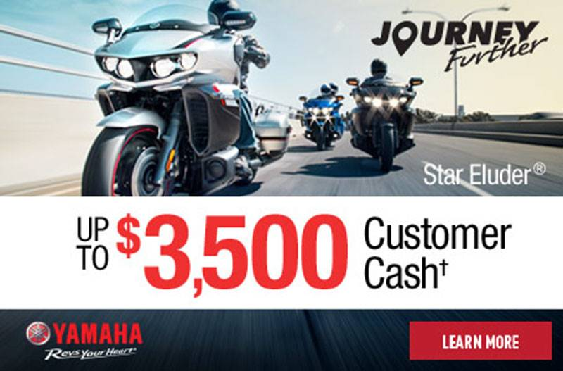 Yamaha Motor Corp., USA Yamaha - 0% APR for 60 Months - Star Venture and Star Eluder