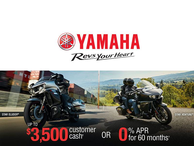 Yamaha - Touring Motorcycles Current Offers & Financing