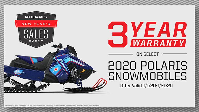 Polaris - New Year's Sales Event - Snowmobile Warranty