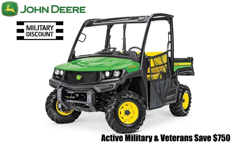 John Deere - Active Military & Veterans Save $750