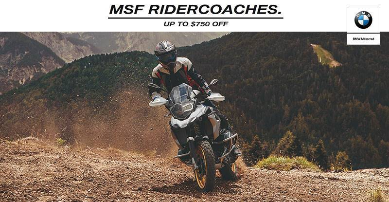 BMW - MSF RiderCoach Purchase Offer