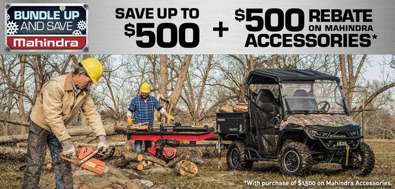 Mahindra - 2019 Bundle Up on UTV Mahindra Accessories*