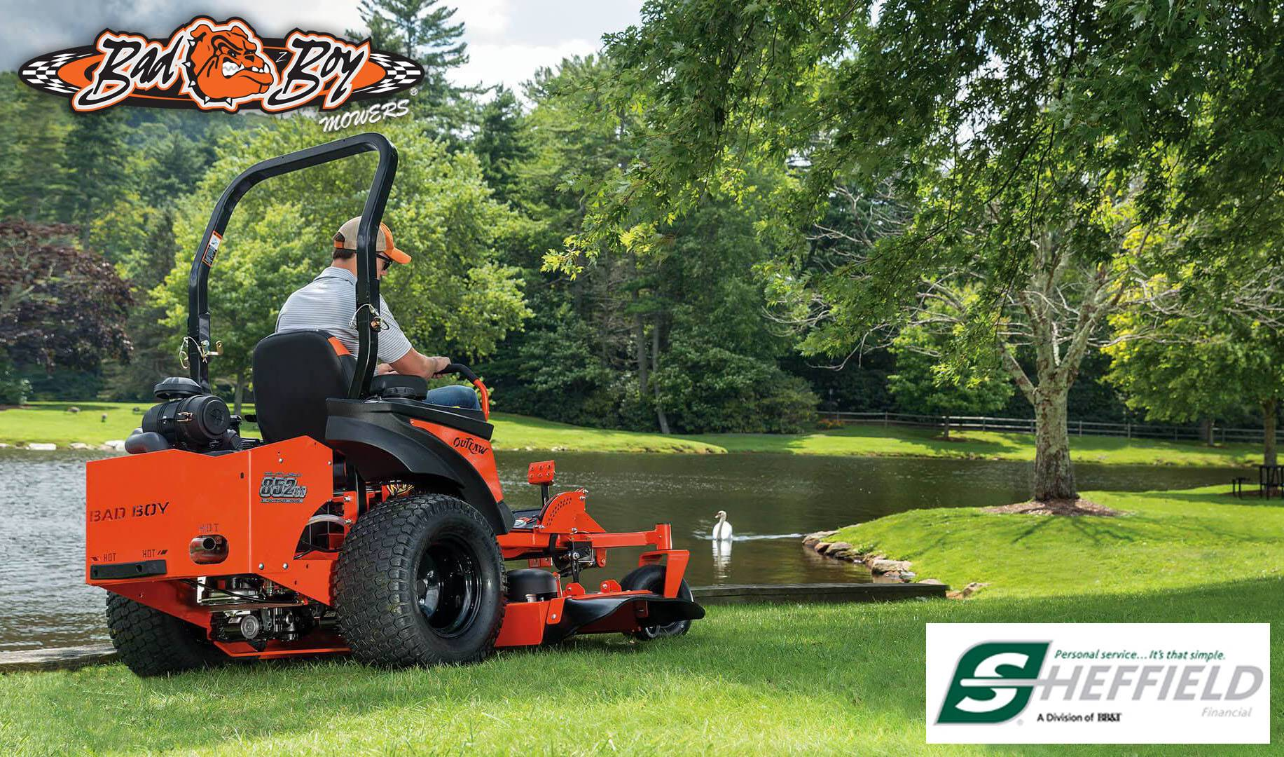 Bad Boy Mowers - Mow Now Pay Later, Sheffield Financial Offers