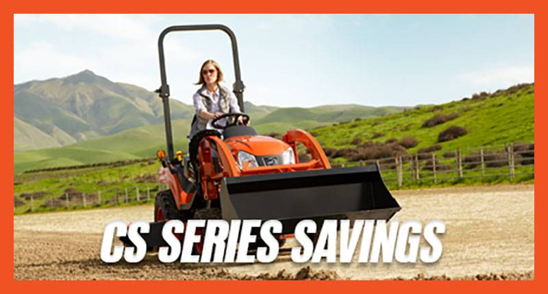 Kioti - CS Series Savings