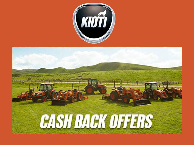 Kioti - Cash Back Offers