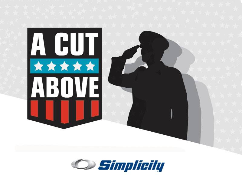 Simplicity - A Cut Above: Military & First Responder Discount Program