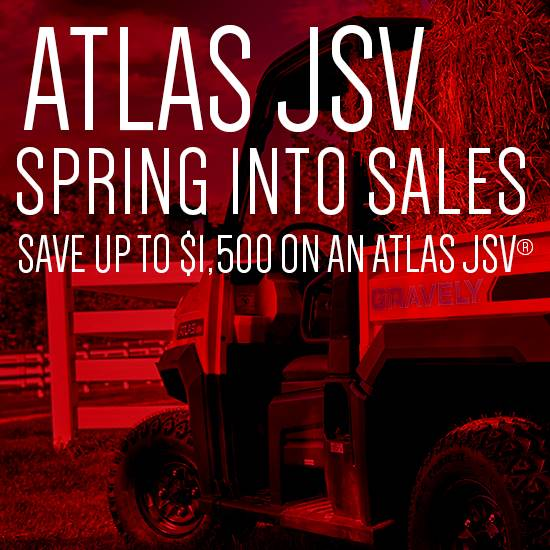 Gravely - Spring Into Sales - Atlas JSV