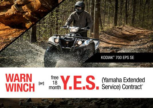 Yamaha Motor Corp., USA Yamaha - Current Offers - Utility ATV - 1.99% APR