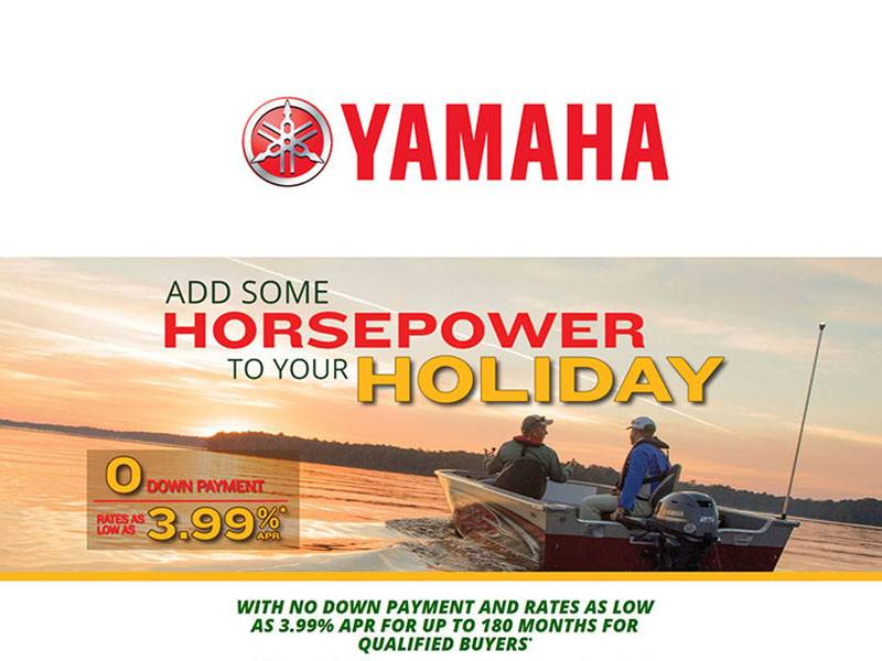 Yamaha Marine - Add Some Horsepower to Your Holiday