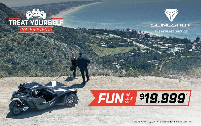 Slingshot - Treat Yourself Sales Event