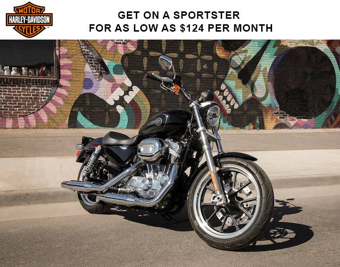 Harley-Davidson - Get on a Sportster for as Low as $124 per Month