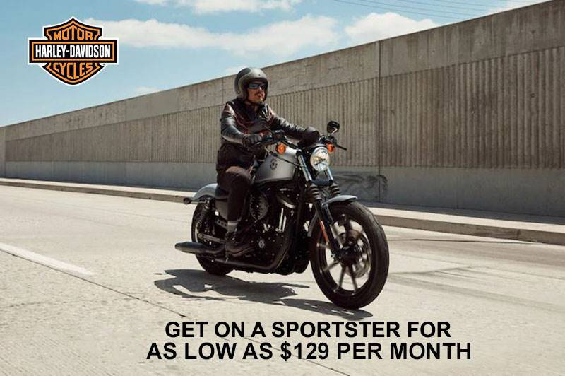 Harley-Davidson - Get on a Sportster for as Low as $129 per Month