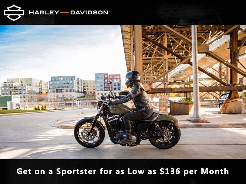 Harley-Davidson - Get on a Sportster for as Low as $136 per Month