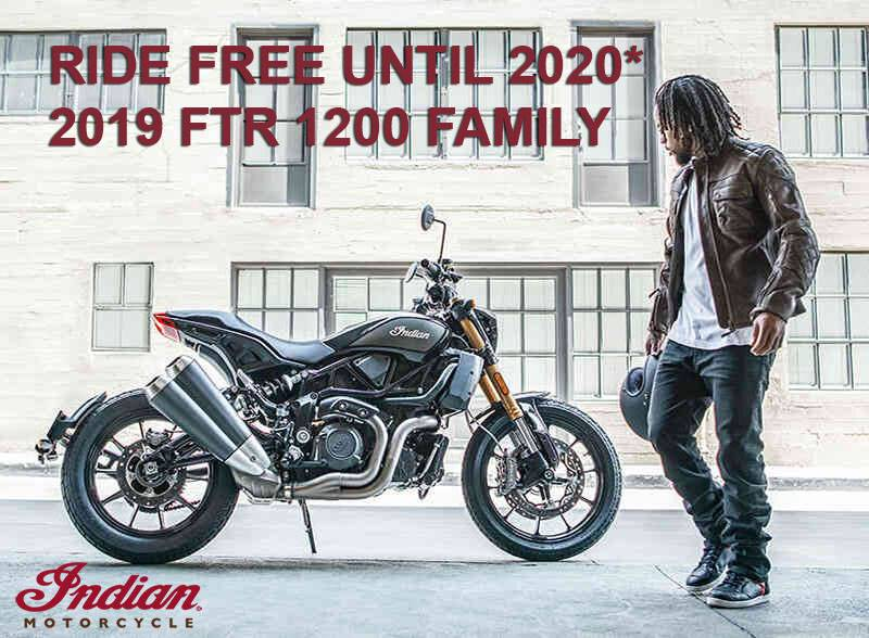 Indian - Promotional Financing - 2019 FTR 1200 Family