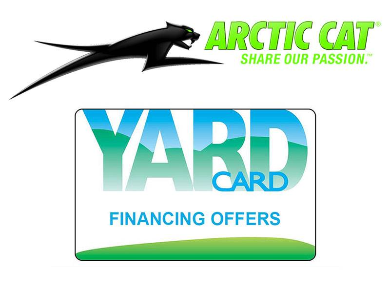 Arctic Cat - Yard Card Financing