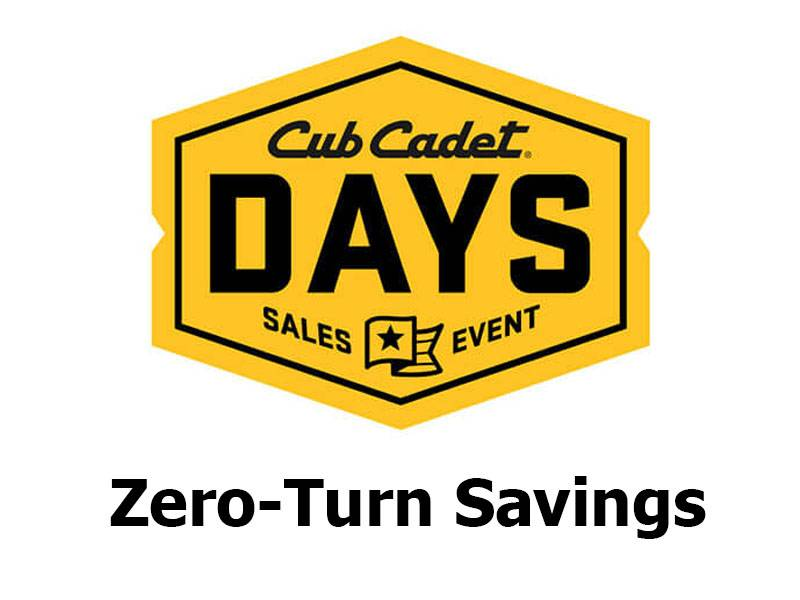 Cub Cadet - Zero-Turn Savings