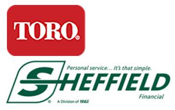 Toro - 3.99% Interest for 60 Payments* - Sheffield Finance