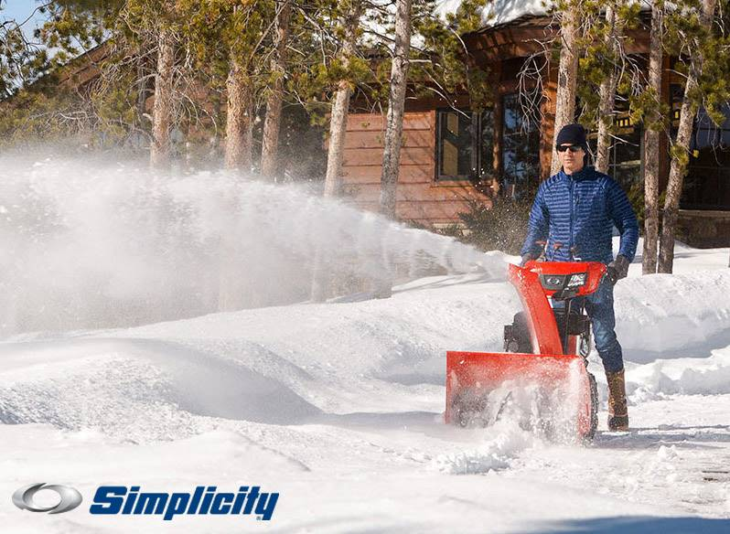 Simplicity - Preseason Snow Thrower Savings