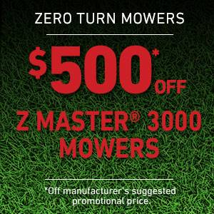 Toro - $500 USD Off Select Z Master 3000 Series Mowers