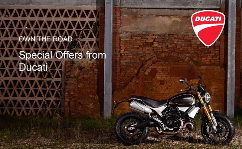 Ducati - Own The Road Special Offers