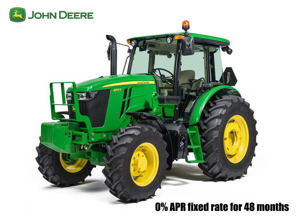 John Deere - 0% APR fixed rate for 48 months