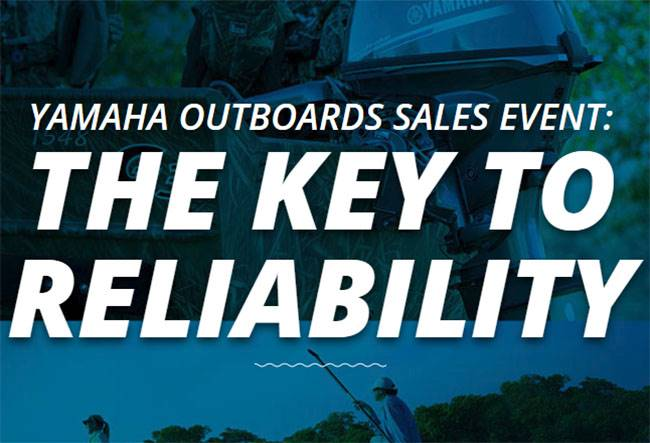 Yamaha Outboards Sales Event