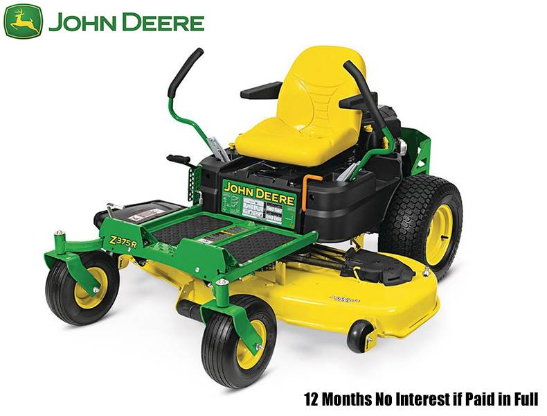 John Deere - 12 Months No Interest if Paid in Full on Z300 Series ZTrak Zero-Turn Mowers