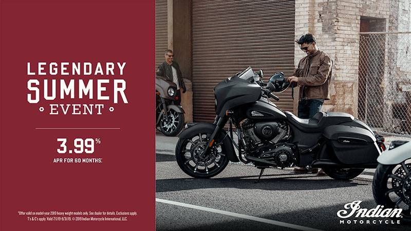 Indian - Legendary Summer Event - 2019 ThunderStroke 111 Model Financing and Trade-In Offers