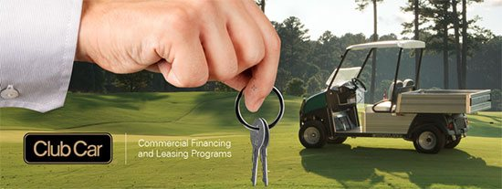Club Car Commercial Financing and Leasing Programs - Utility Vehicles