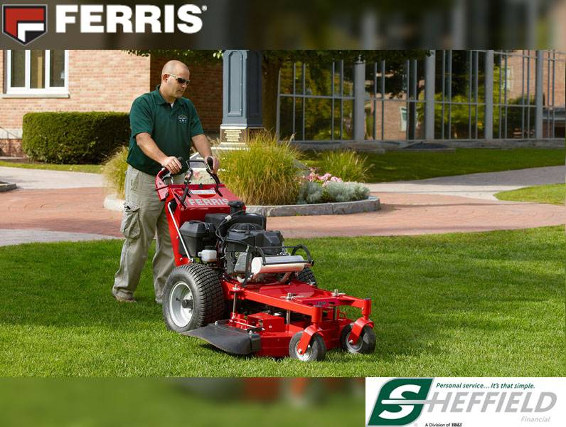 Ferris Industries - Mow Now, Pay Later, 3.99% for 48 Mos