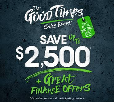 Kawasaki GOOD TIMES™ SALES EVENT - RETAIL FINANCE OFFERS