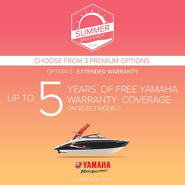 Yamaha Boats - Summer Sales Event - Option 2
