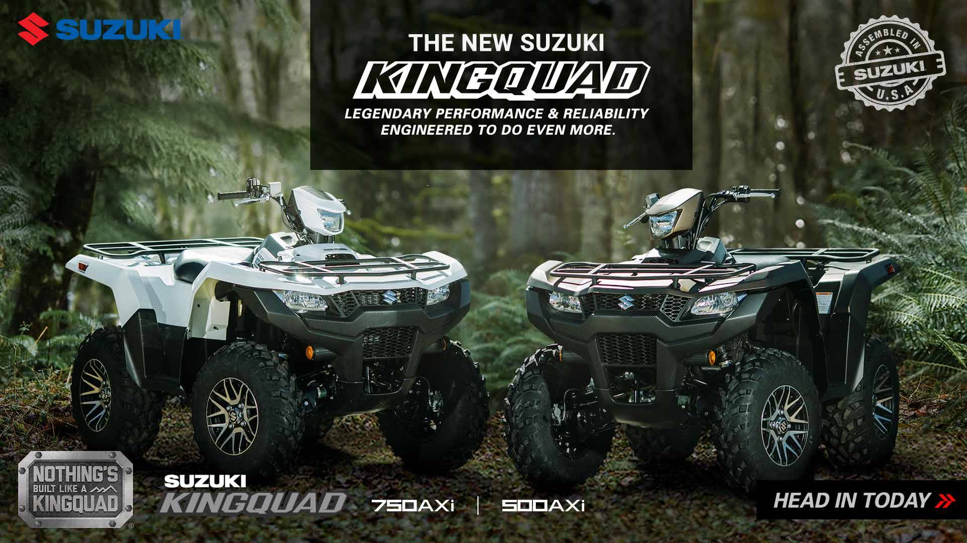 Suzuki Motor of America Inc. Suzuki - Fall SuzukiFest 2018 - Sport and Utility Sport ATVs