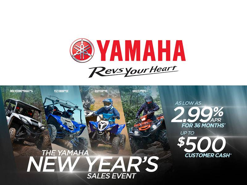 Yamaha Motor Corp., USA Yamaha - New Year's Sales Event - ATV